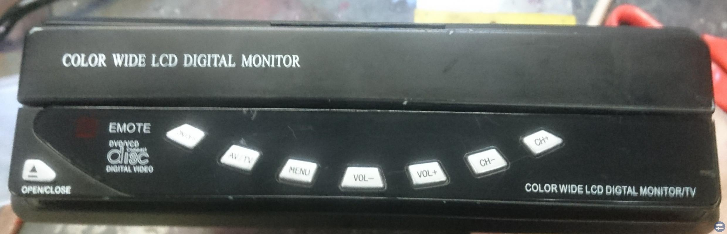 Monitor till backkamera