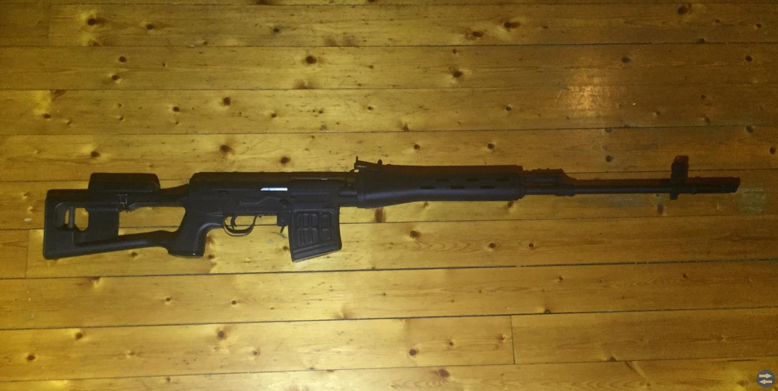 Draganov Ak Sniper automatisk softairgun