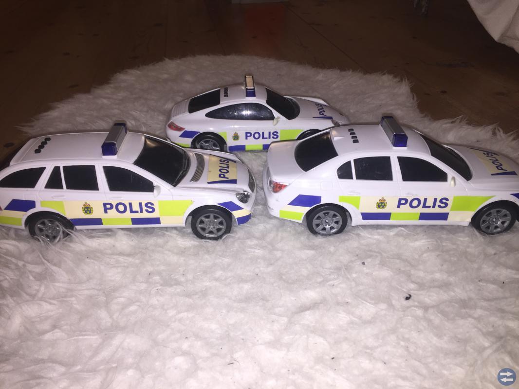 Dickie toys polisbilar