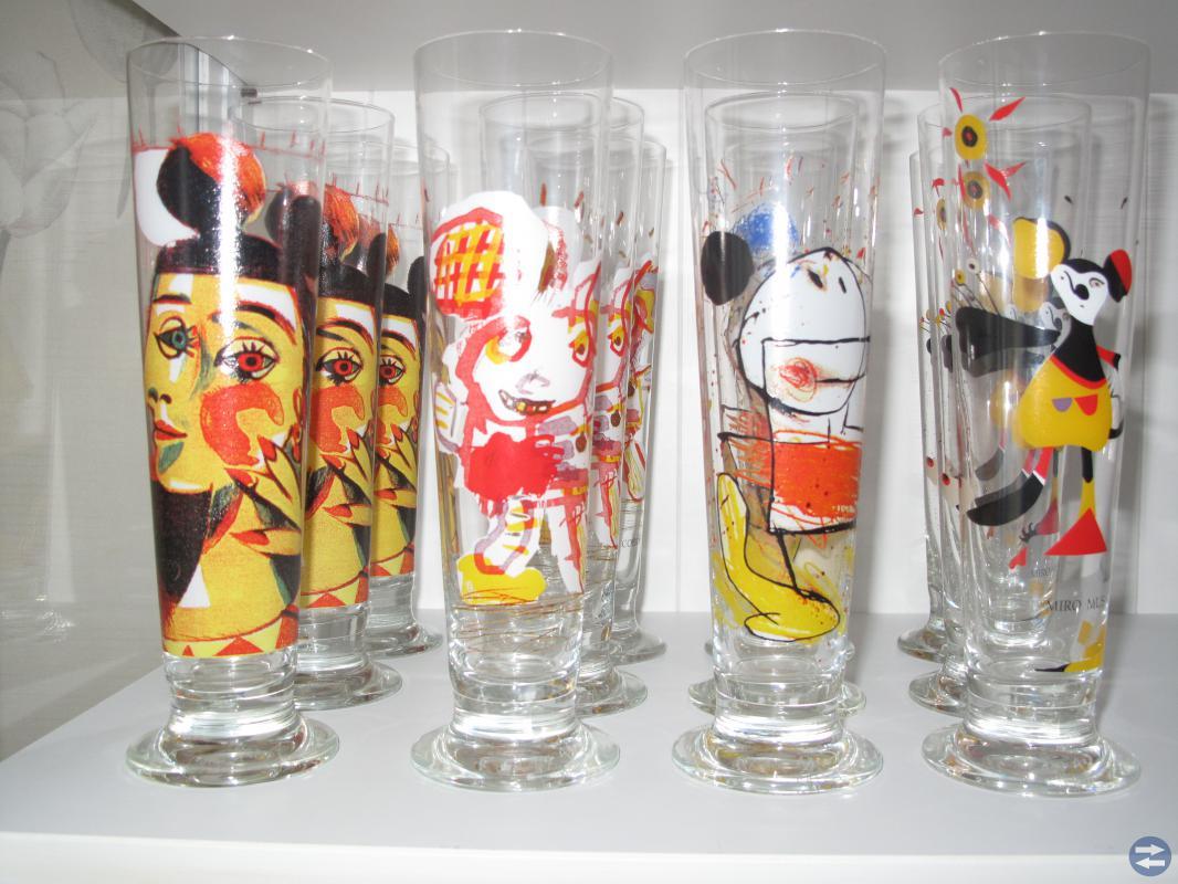 Lasse Åberg glas