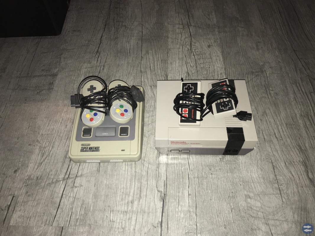 Nintendo 8-bit Nintendo 16-bit