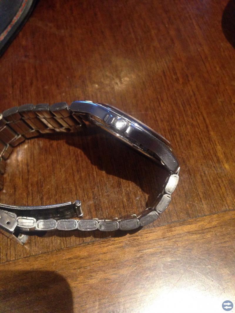 Inex! Rostfritt polerat stål med Safir-glas, Datum