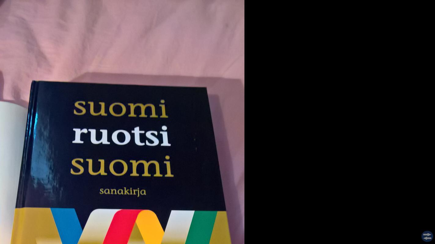 Finsk  ordbok