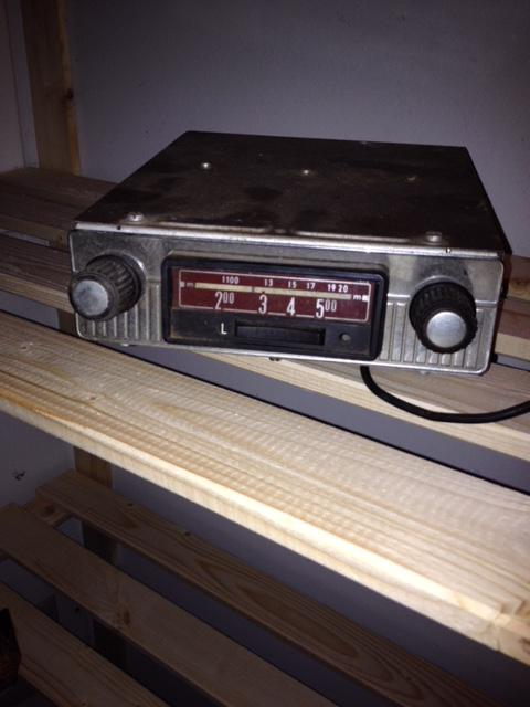 6-volts bilradio
