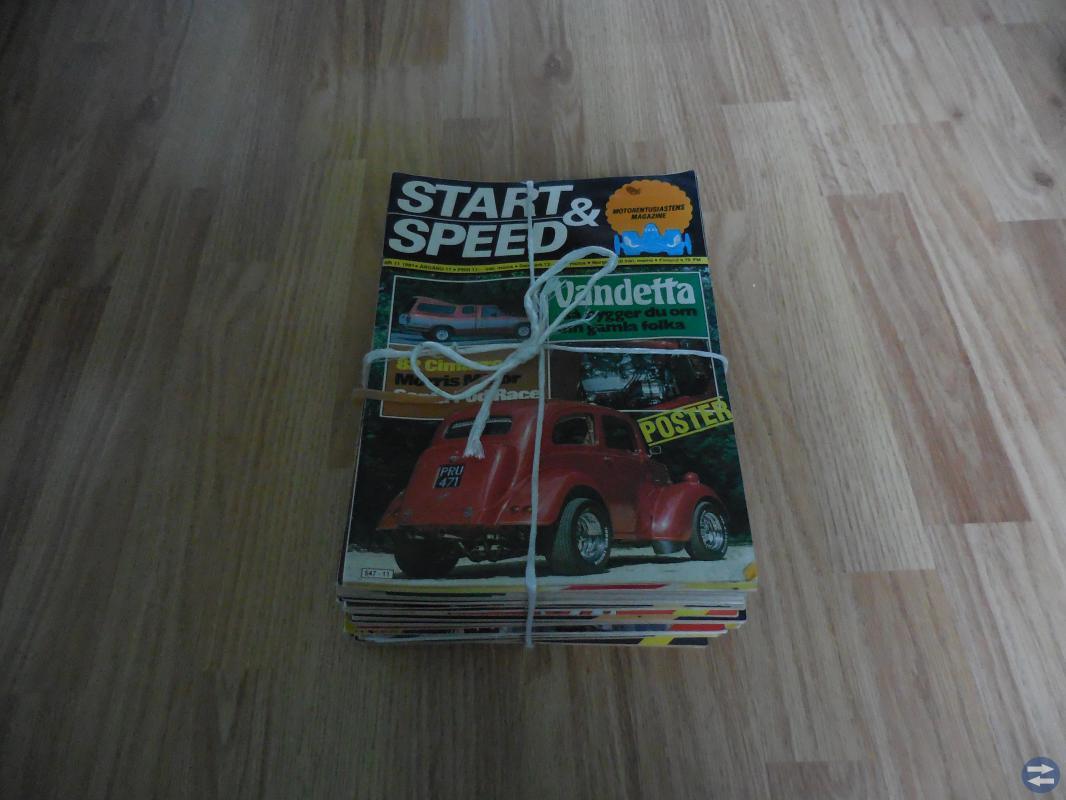 Ca. 180 st. Motortidningar Säljes Nu halva priset