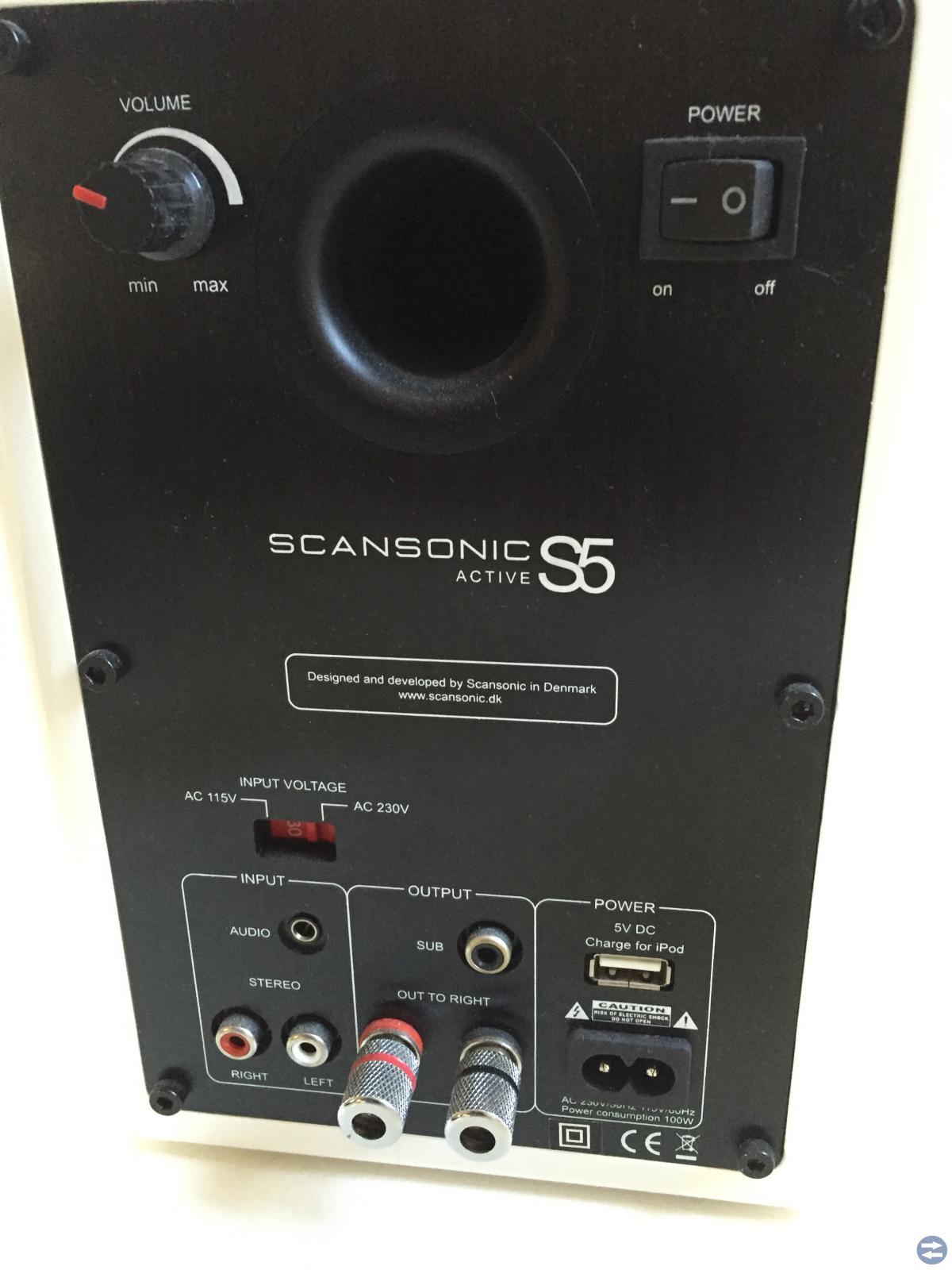 Activa högtalare, SCANSONIC S5