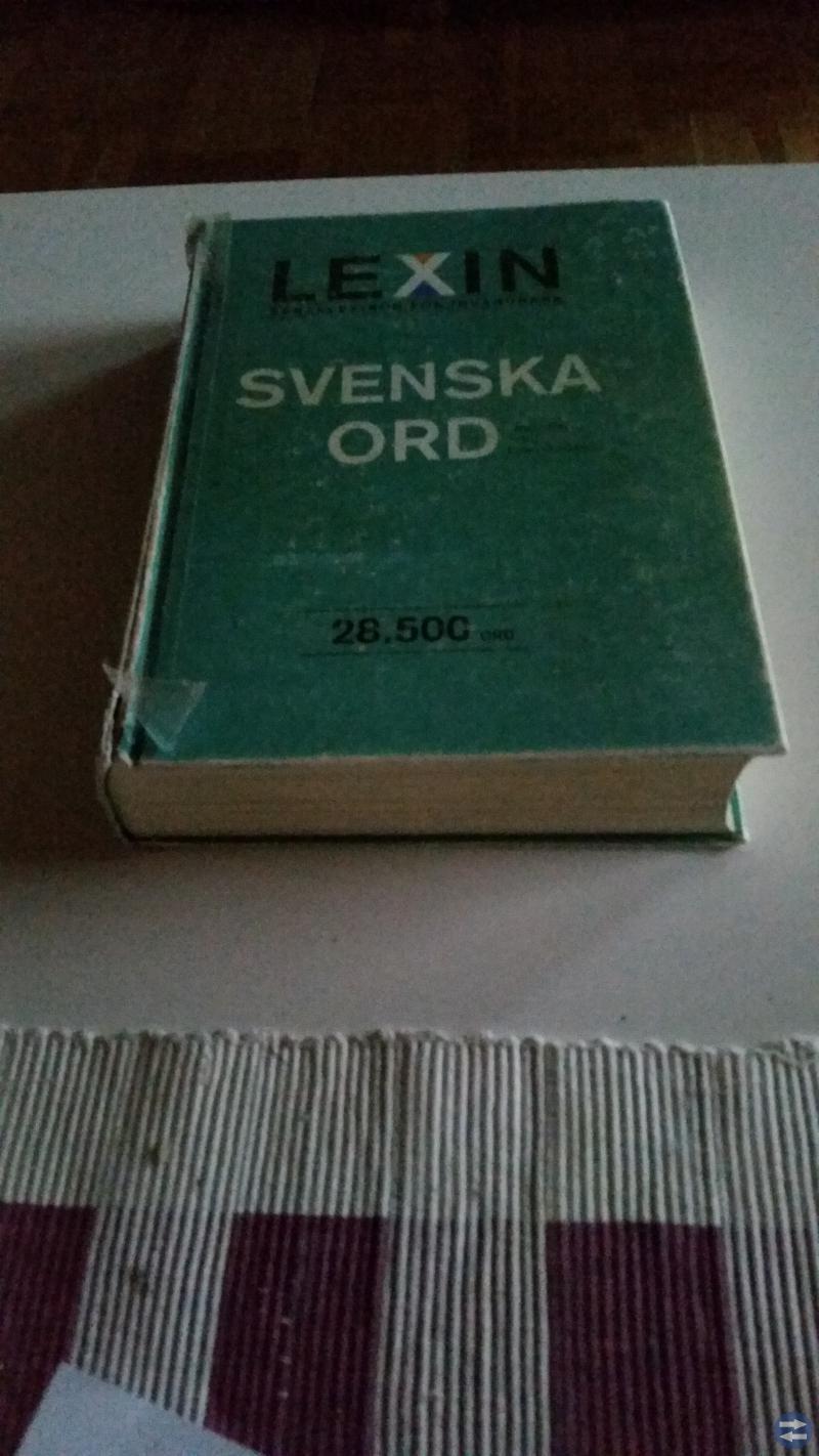 Lexin svenska ord