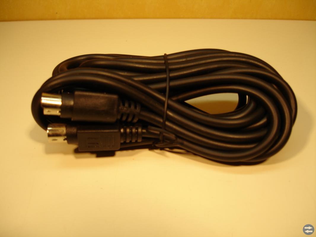 S-vhs, super vhs kabel 5m