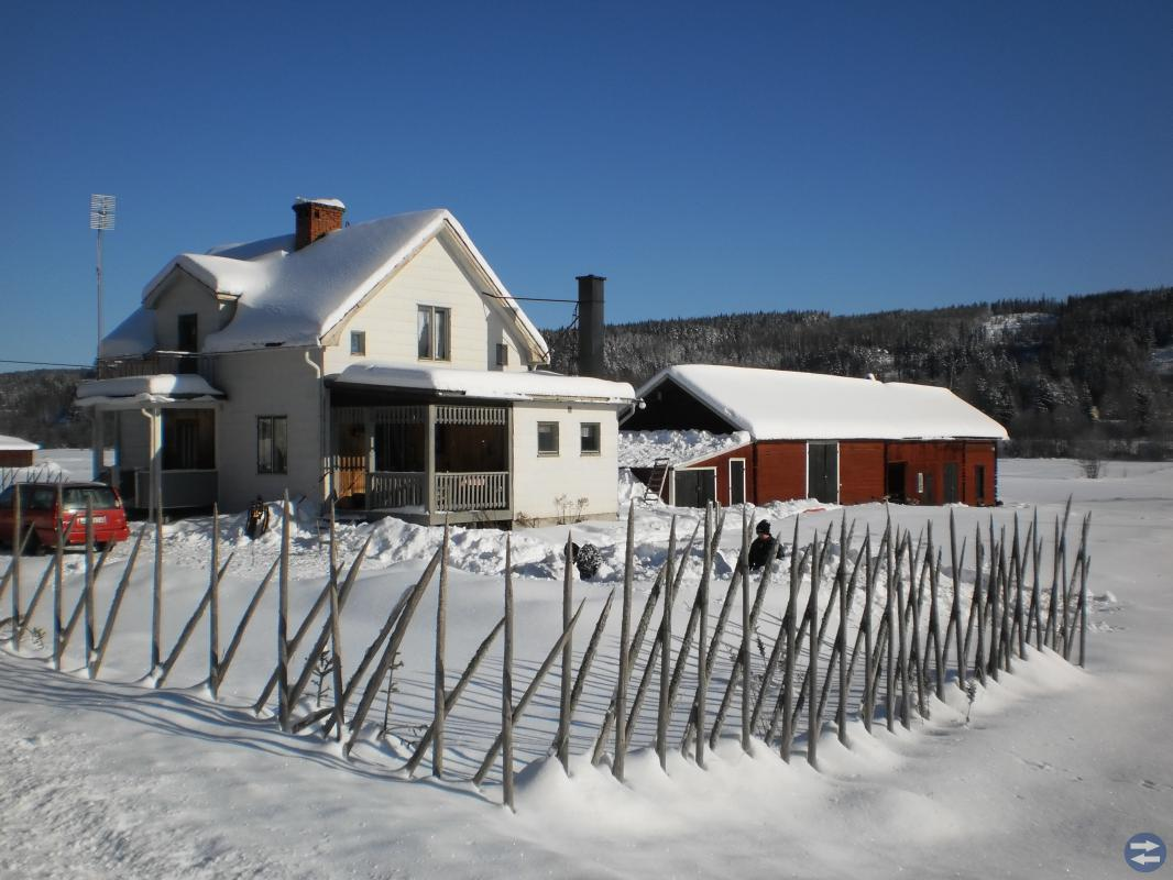 Fira jul i norra Värmland med skidåkning i Branäs