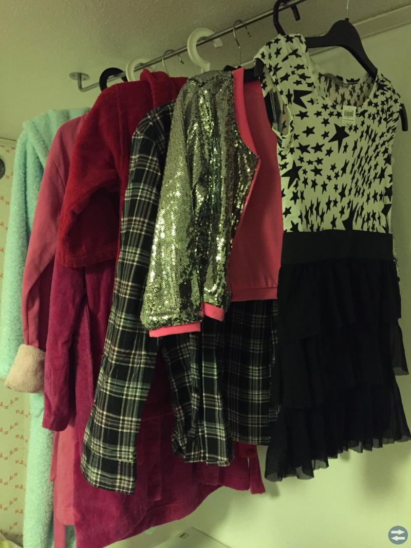 Morgonrock, klänningar, termobyxor mm