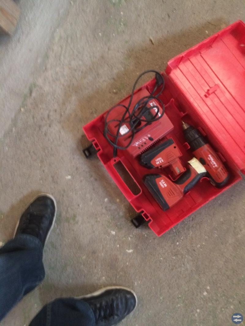Borrmaskiner batteri och el