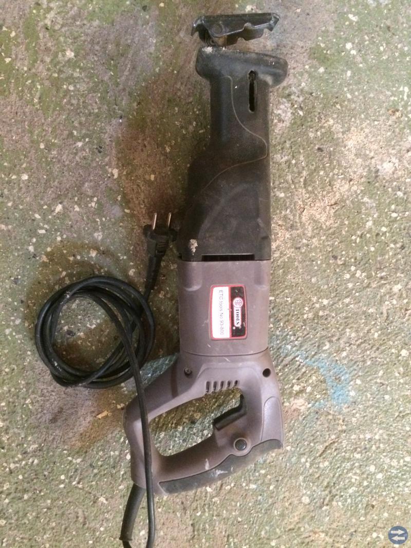 Tigersåg varm pistol mm