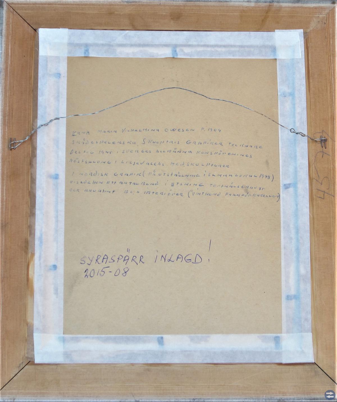 Erna Owesen(1904-1988) Pekingese 1949