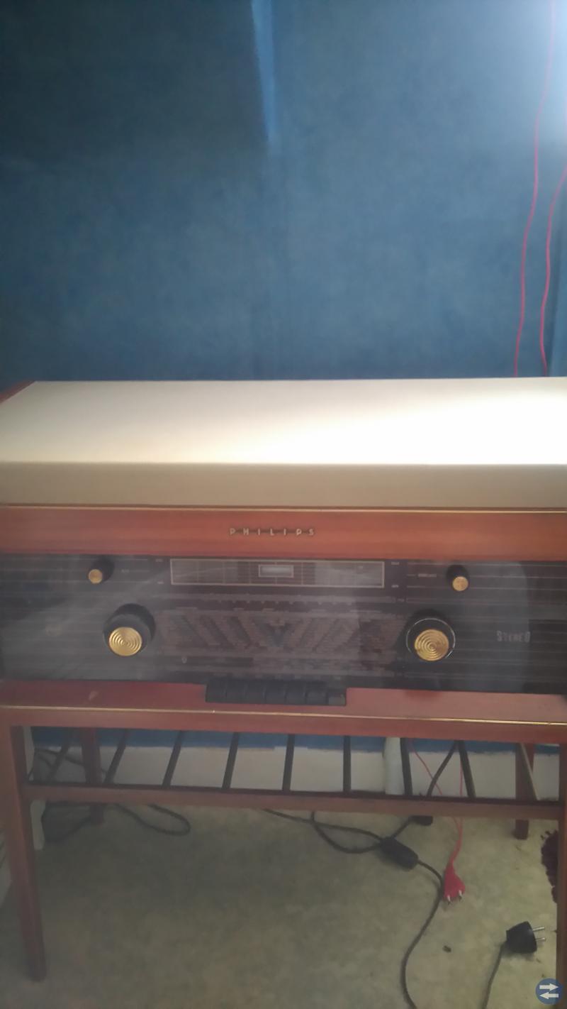 Radio grammofon