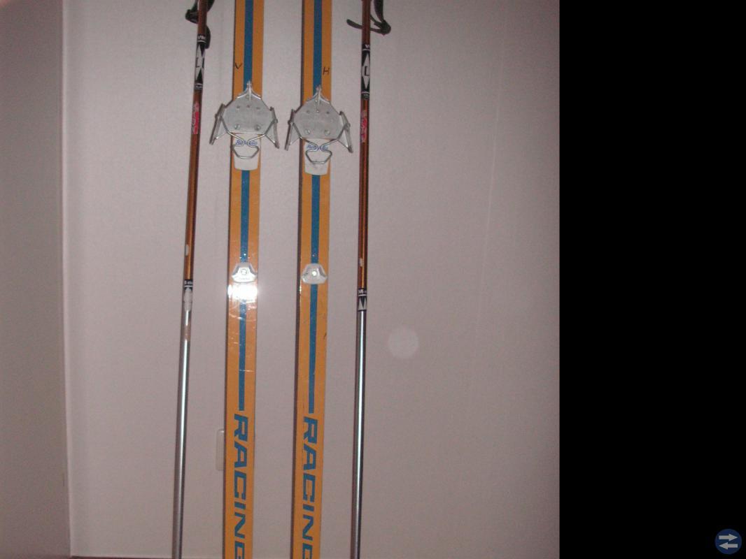 Skidor+Stavar