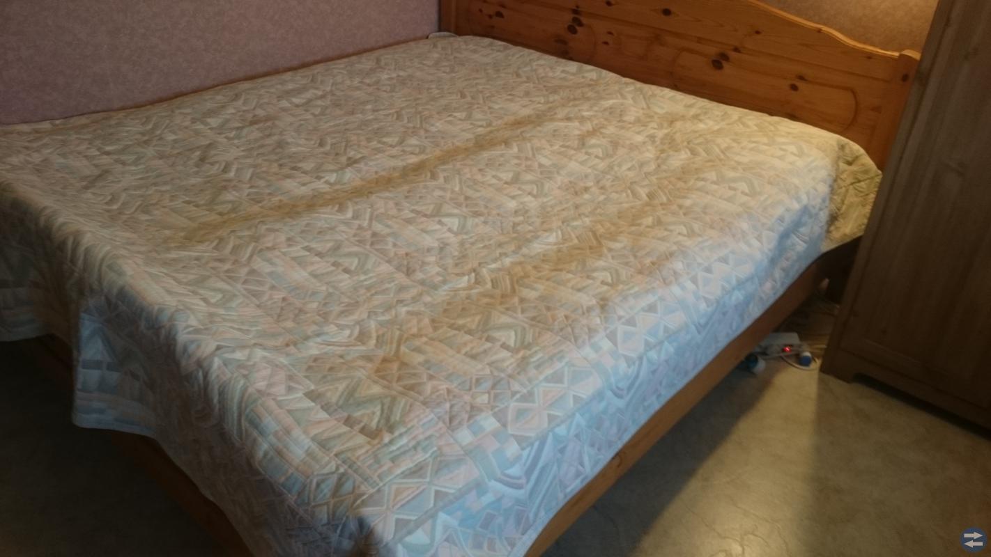 Sängöverkast