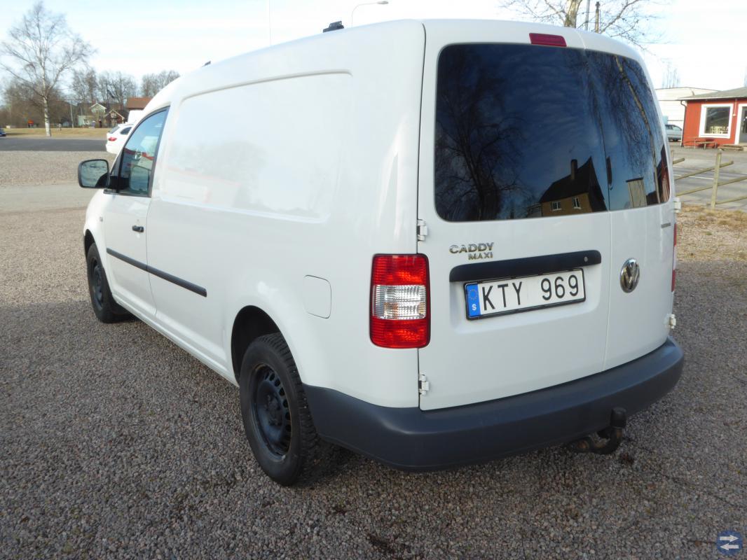 VW CADDY 2.0 ECOFUEL MAXI-SKÅP 6400MIL