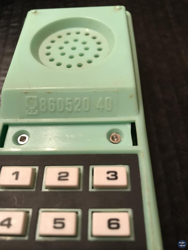 Väggtelefon retro