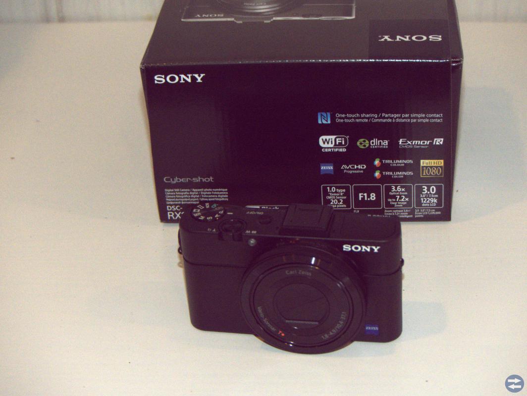 SonyRX 100 II
