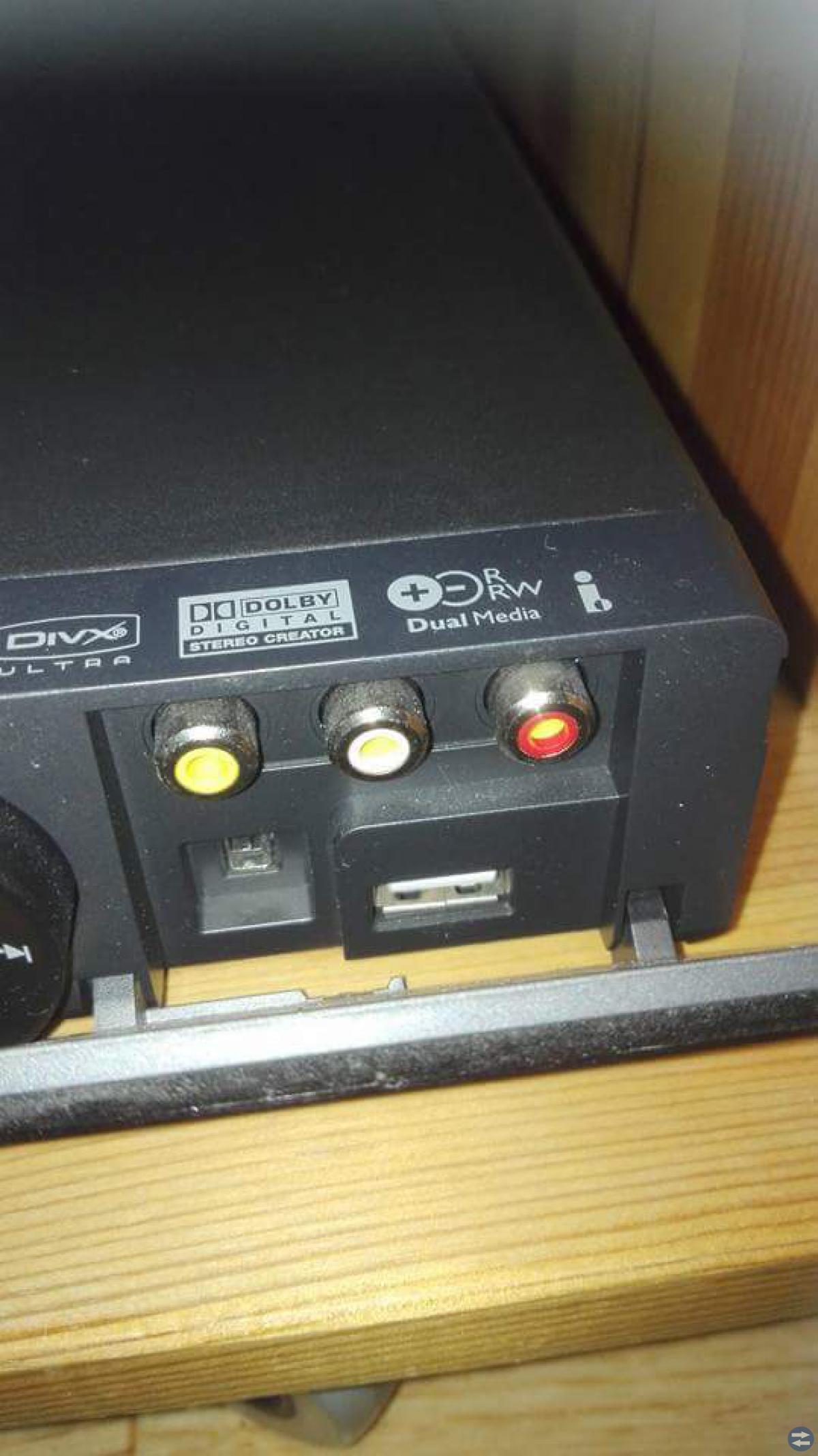 Oanvänd inspelning dvd Philips med hdmi-uttag