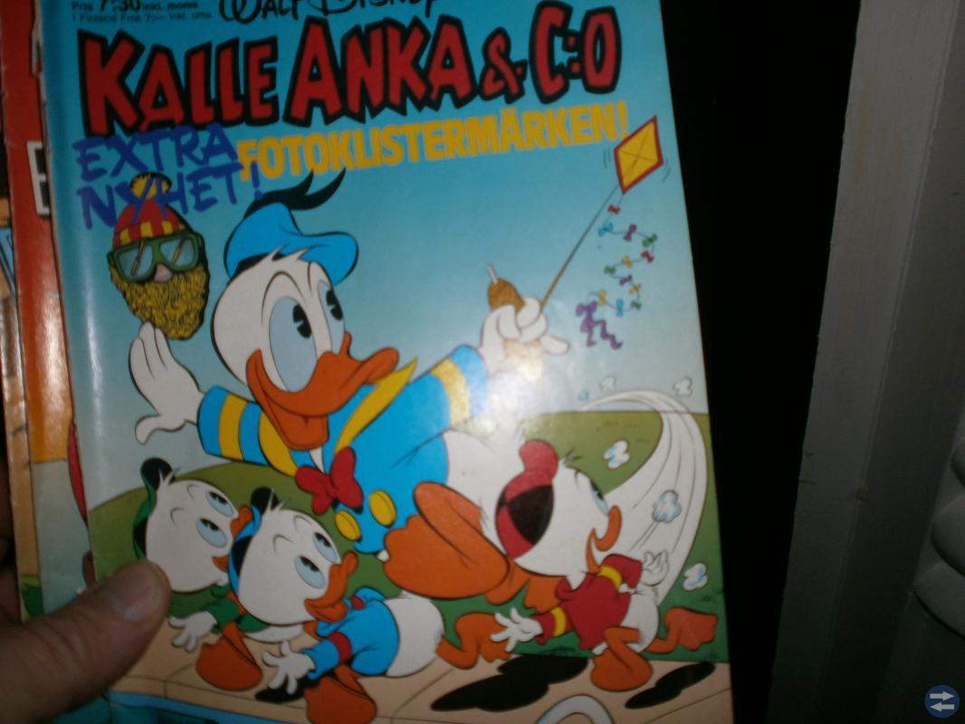 KALLE ANKA&CO TIDNINGAR,CA 200 ST