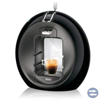 Kaffe maskin + kapsel ställ