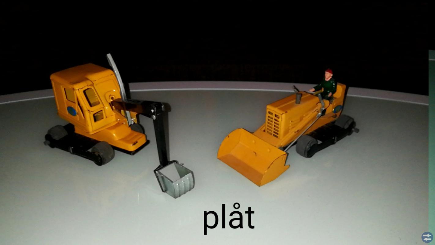 Leksaker i plåt