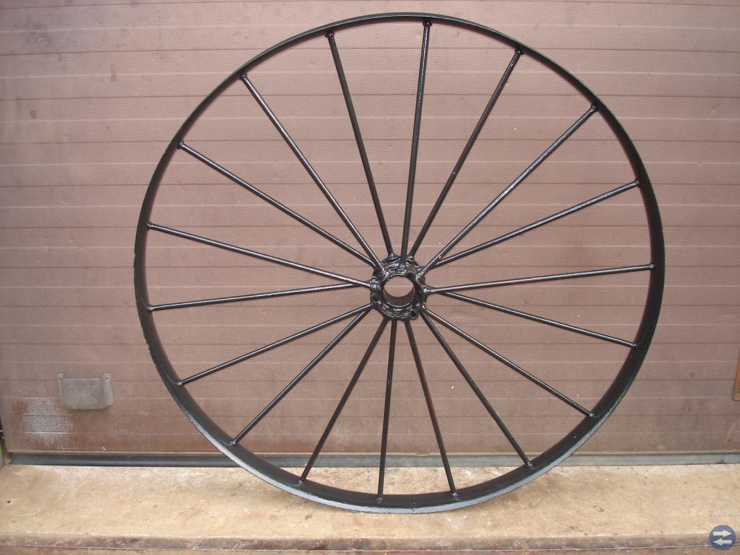 Stora järnhjul