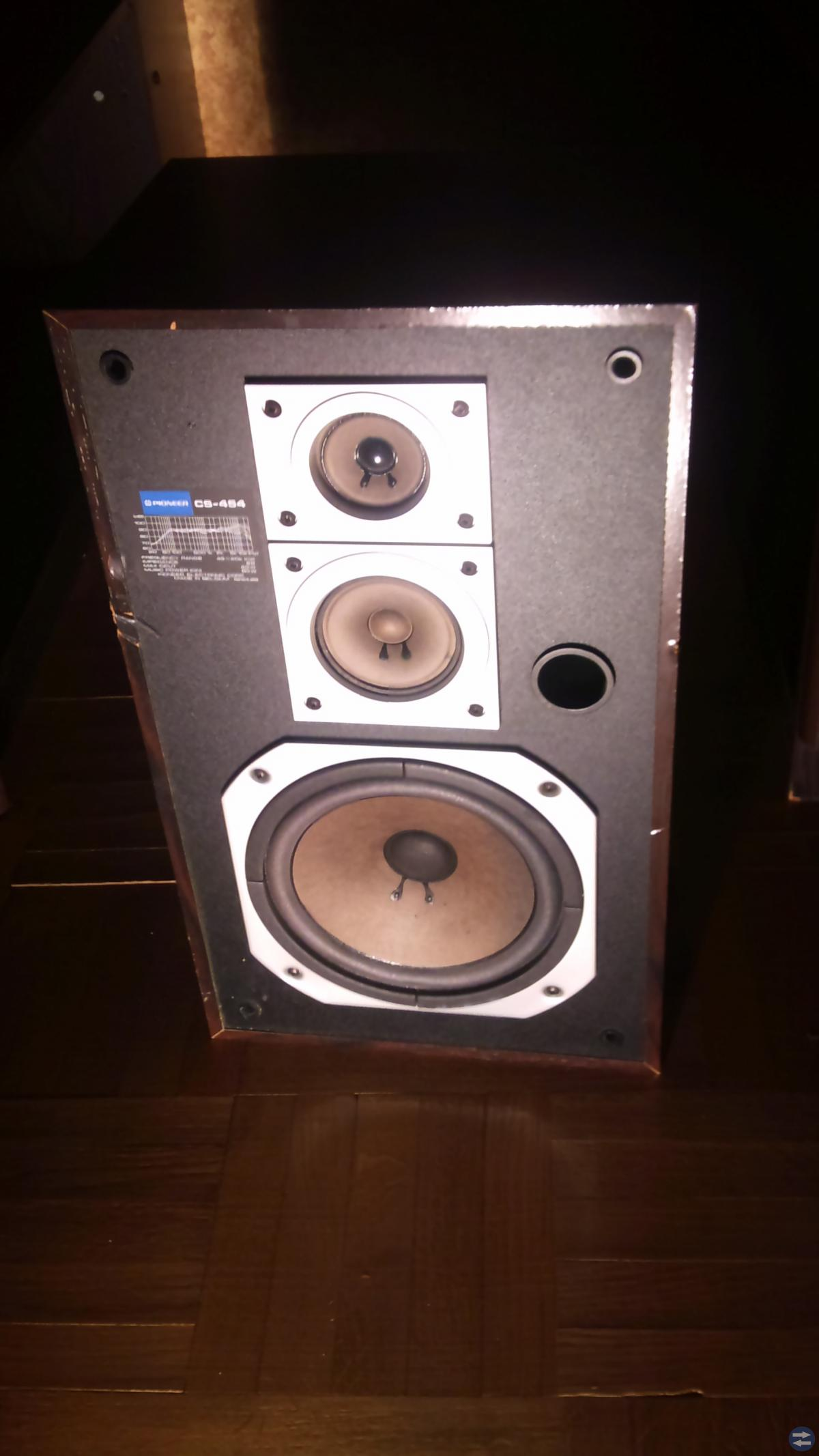 Högtalare!!!  PIONEER o stereo