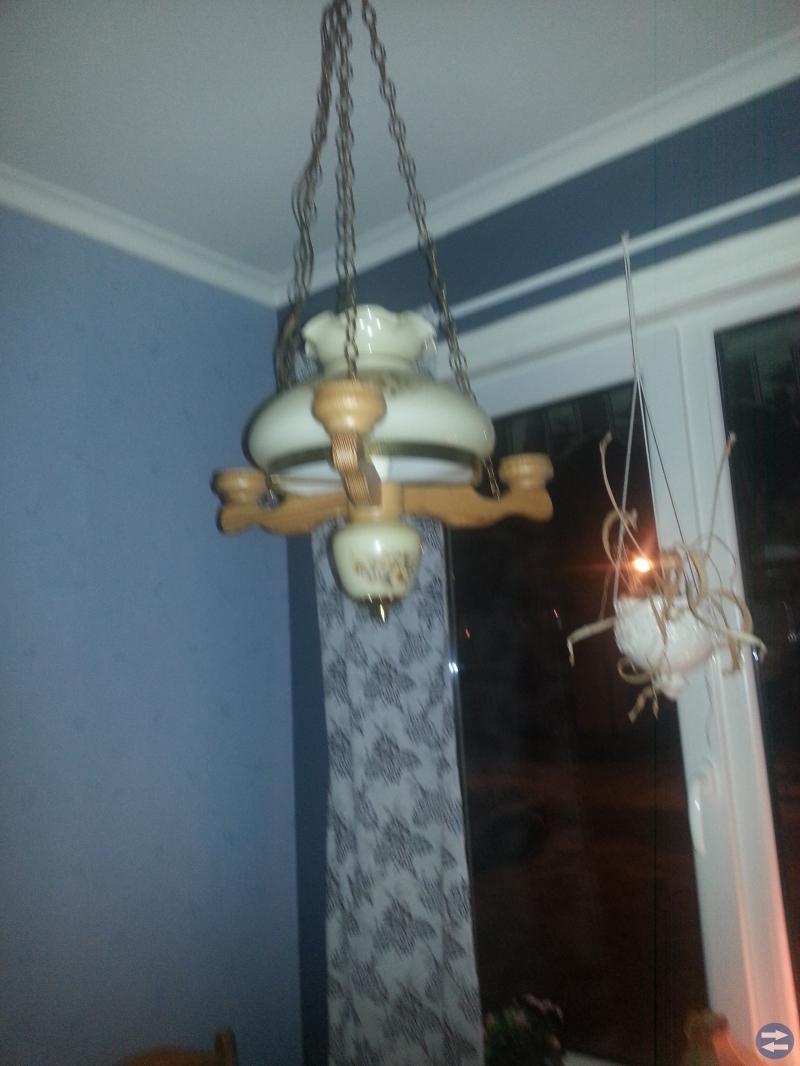 Lampetter och lampa