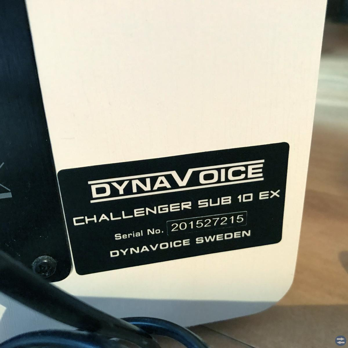 Hemmabio Subwoofer DYNAVOICE CHALLENGER SUB 10