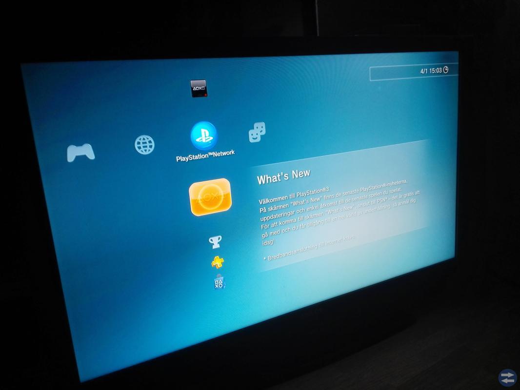 Playstation 3 Slim 320GB inkl 40 tums Bildskärm