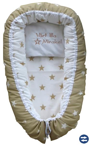 Babynest  Egen Design Svensk tillverkat
