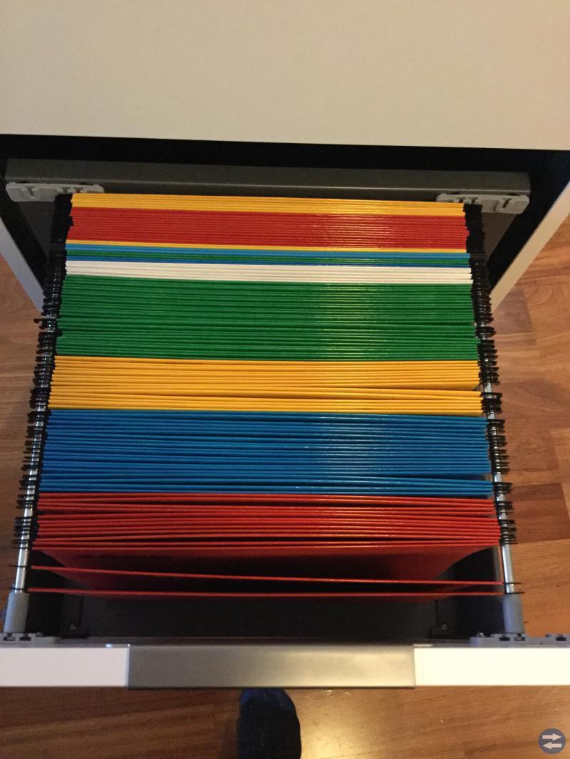 Ikea Galant dokumentskåp