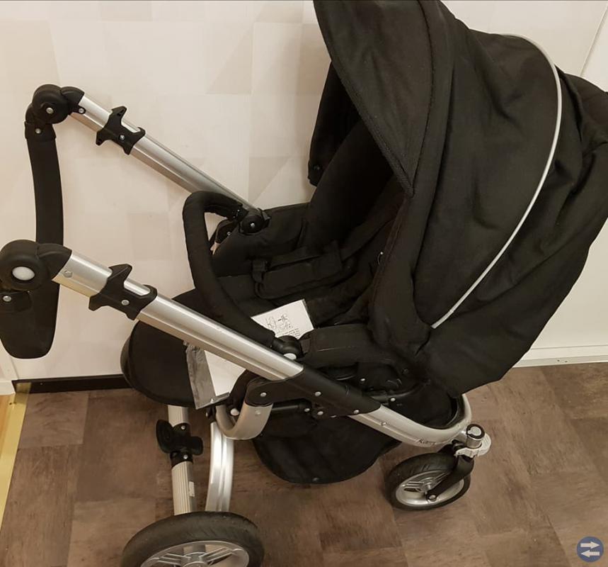 Baby travel Milano med mjuklift