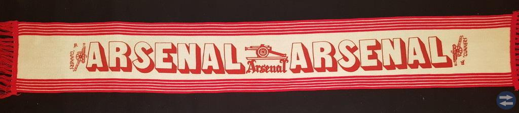 Klassisk Arsenal halsduk.