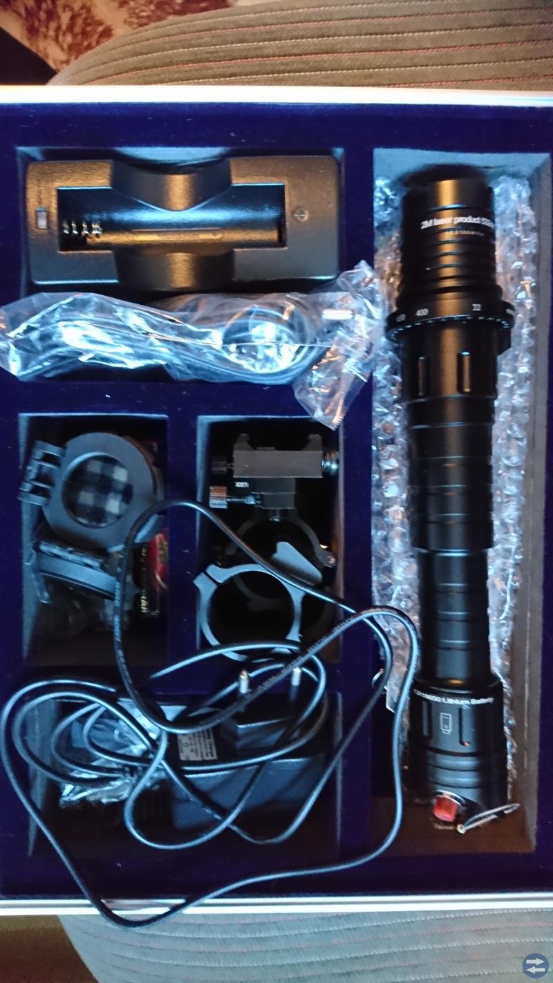 Värsting laser för mörkerjakt Nytt ej använt.