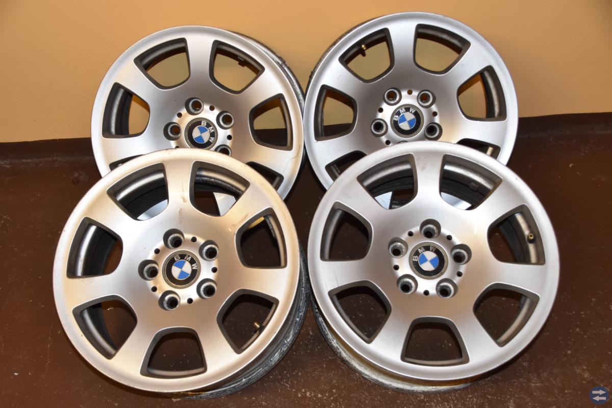 4 st.  aluminium fälgar till BMW 5 serie(E61)