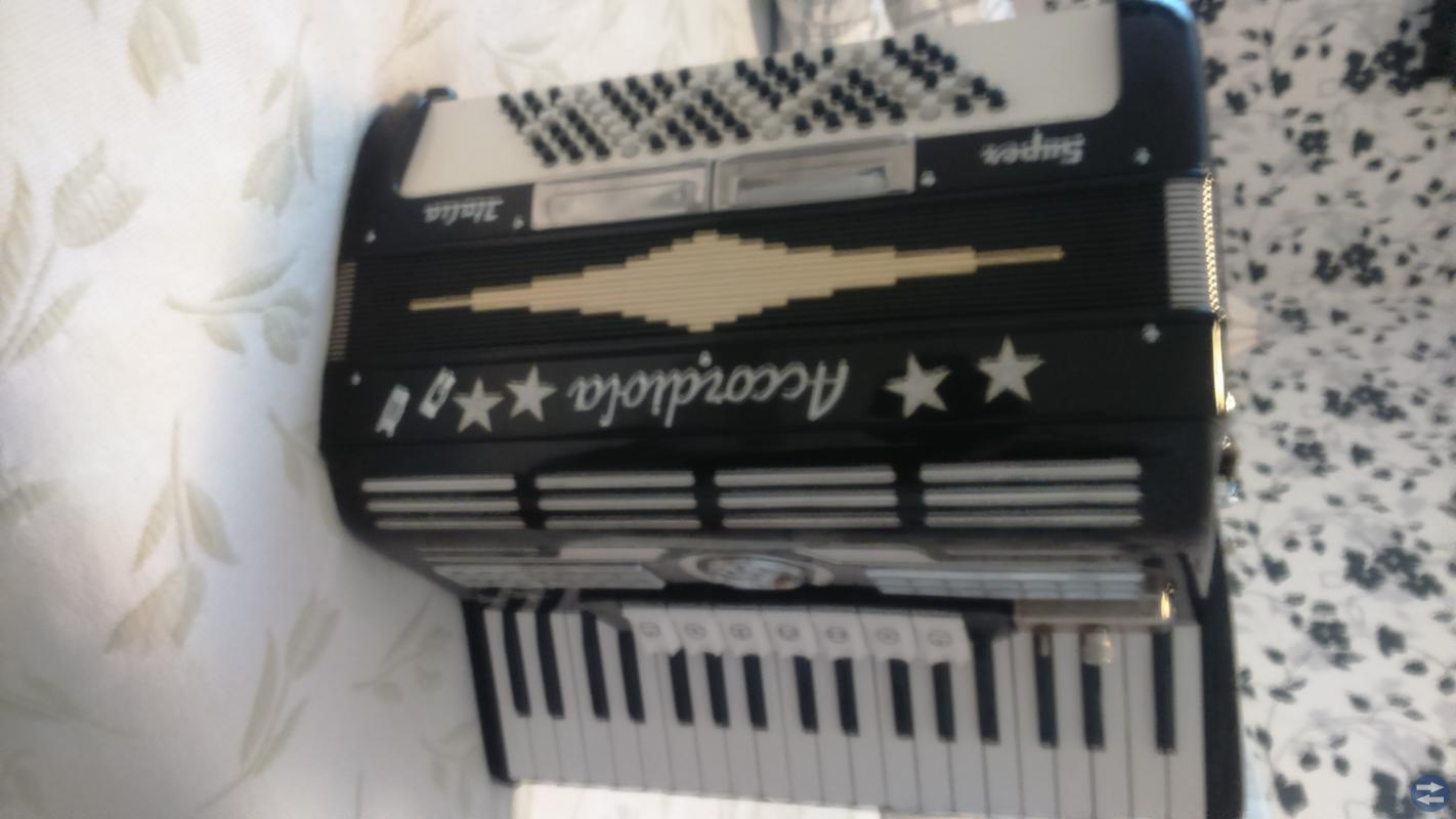 Piano Dragspel Accordiola