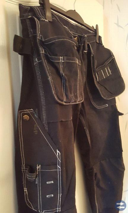 6 st Blåkläder! Jacka, fleccepullover, byxor, väst
