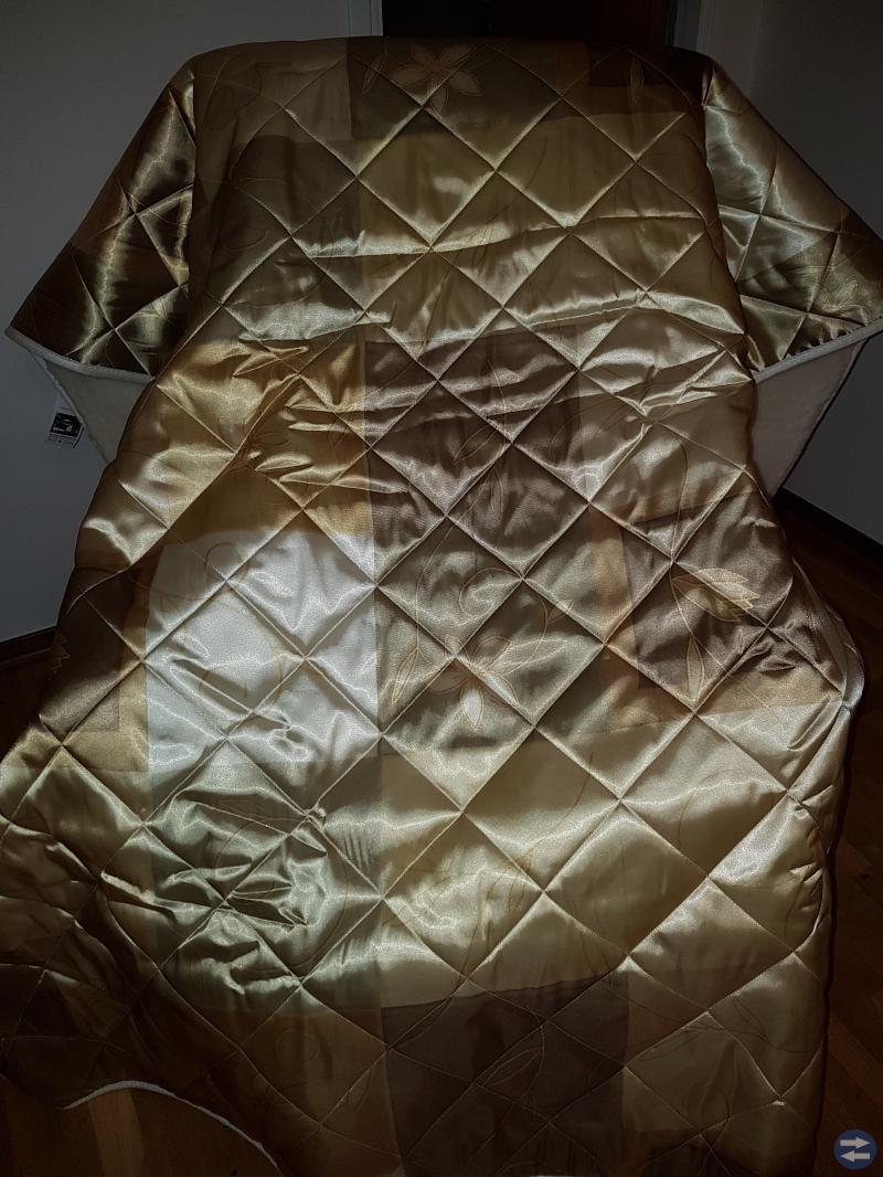 Satin Täcke  140×200