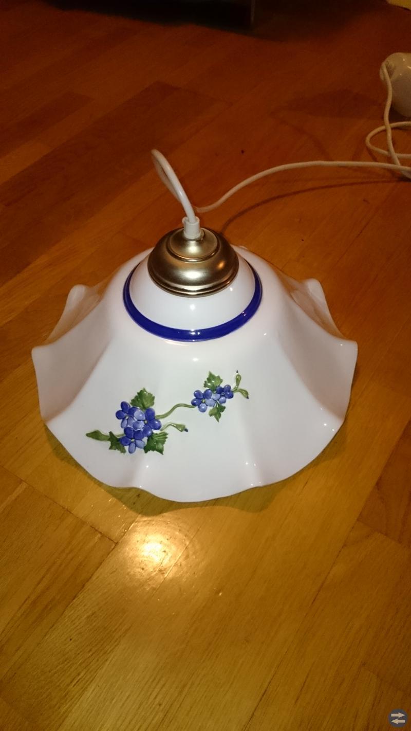 Lampa i porslin