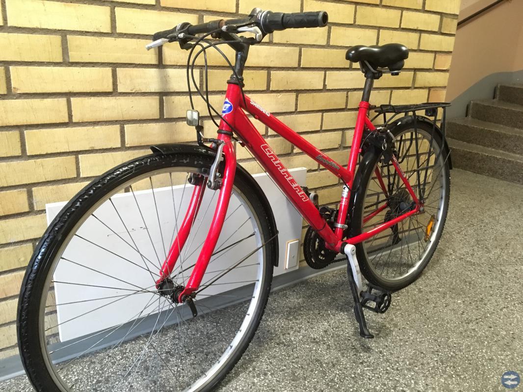 Shimano Dam cykel inkl tillbehör