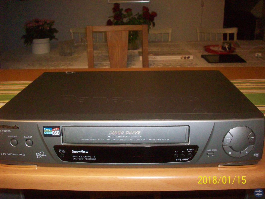VHS Bandspelare