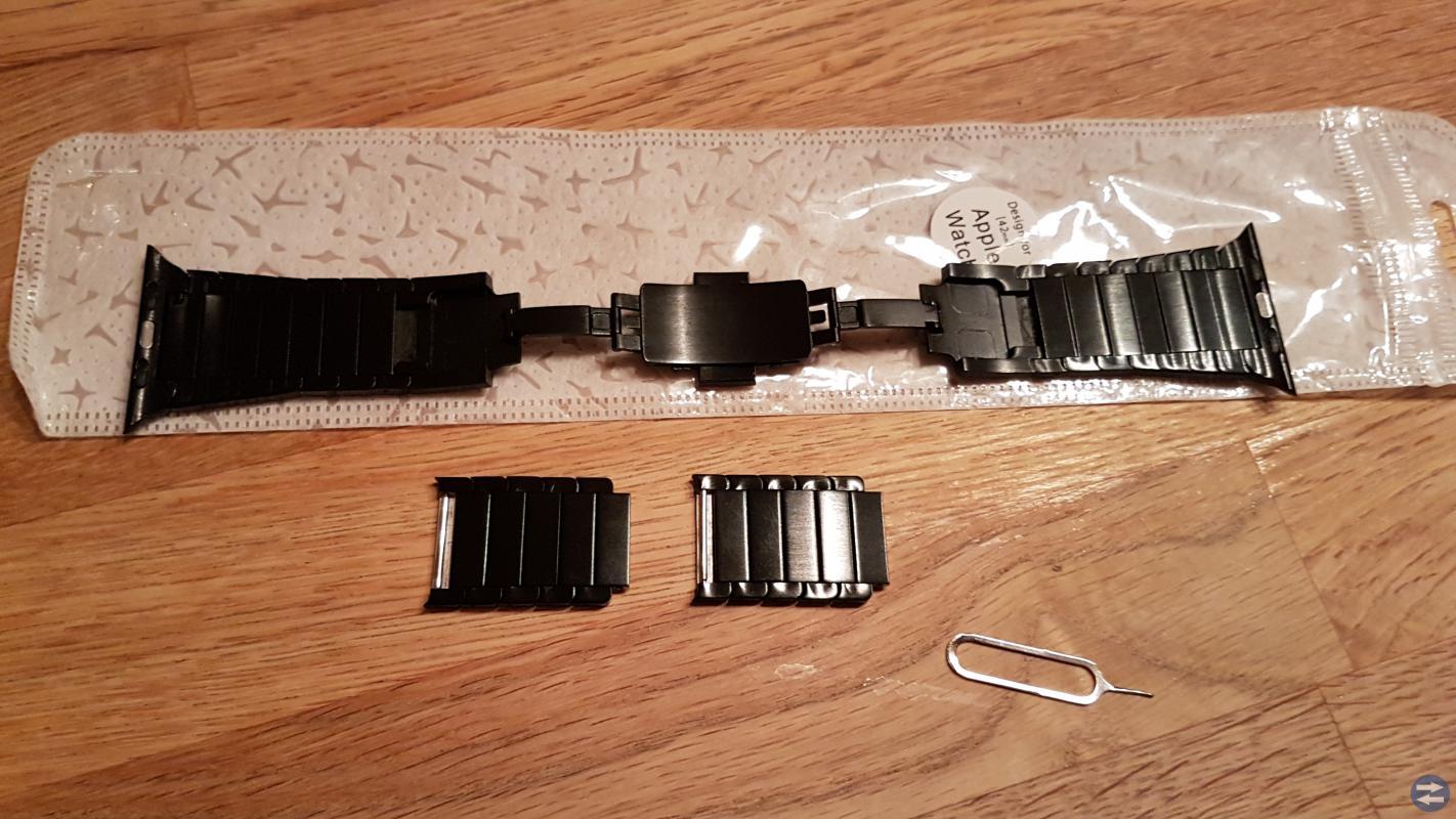 Rostfritt armband till Apple-watch 42