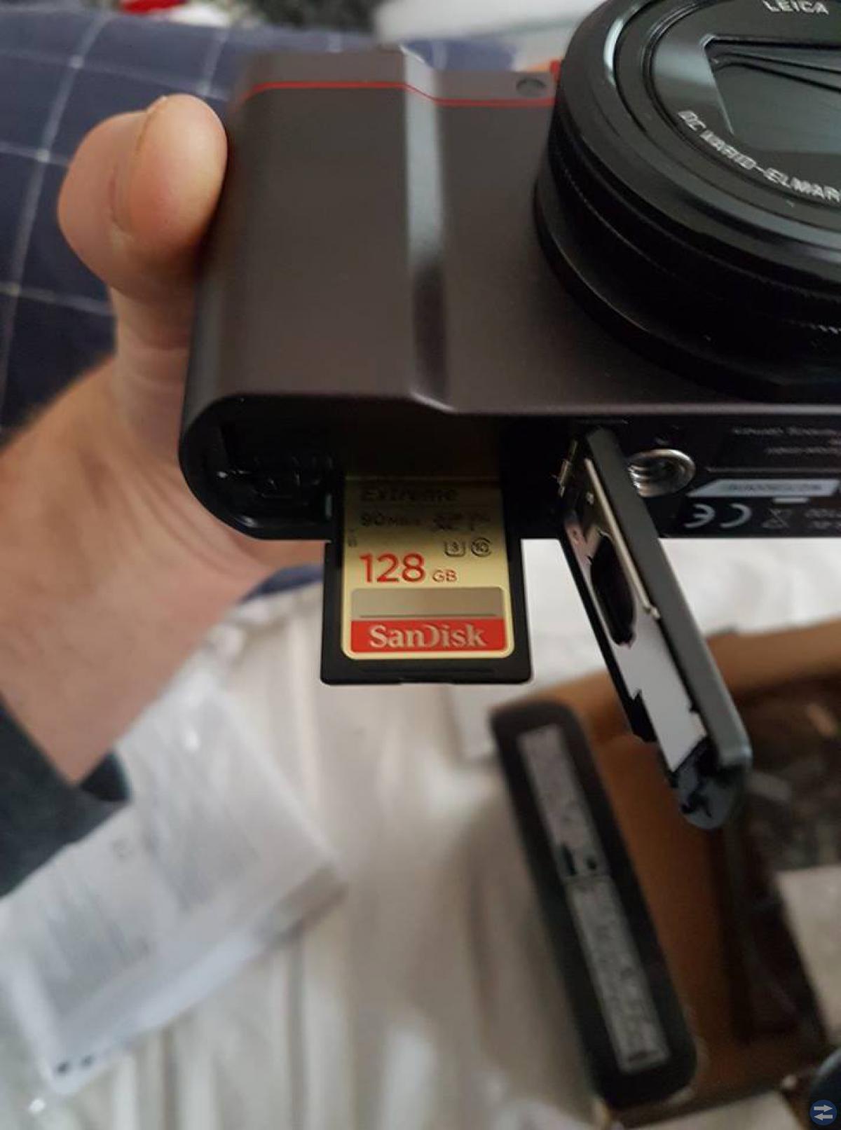 Panasonic DMC-TZ100 nyskick inkl. 128g minneskort