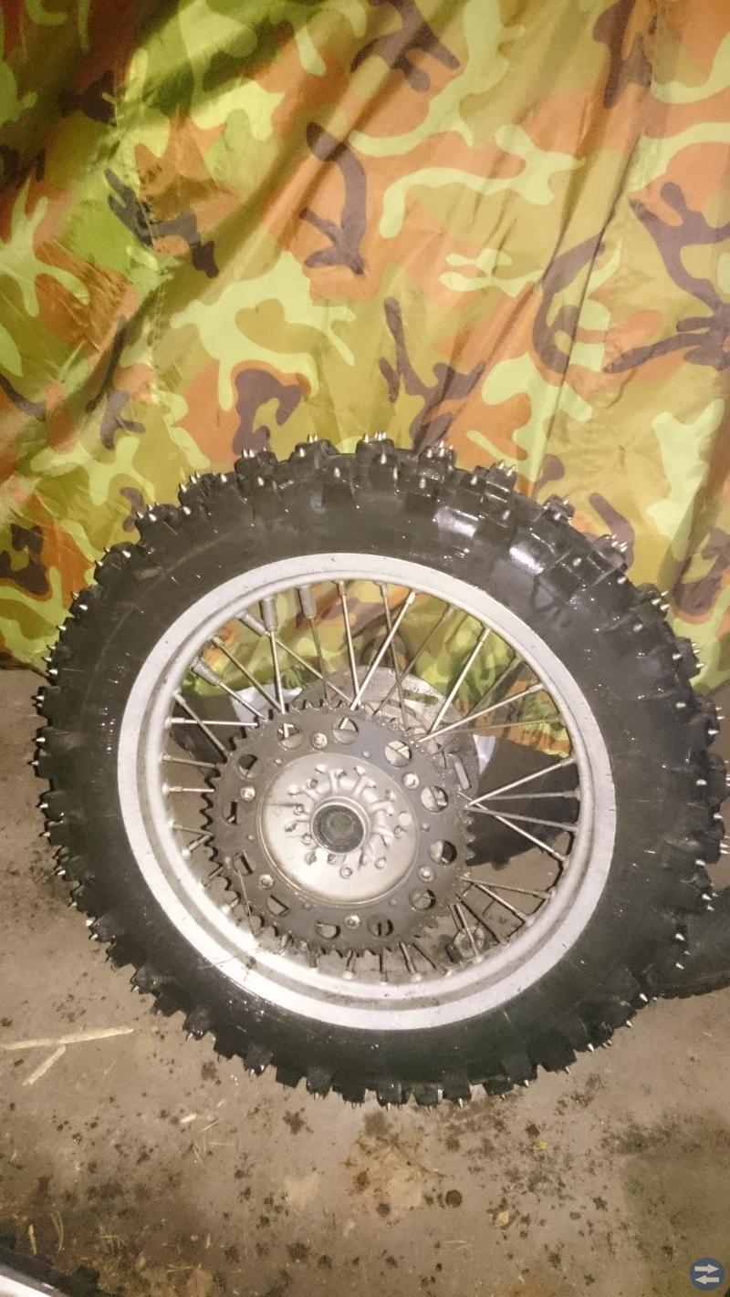 Endurodubbade hjul