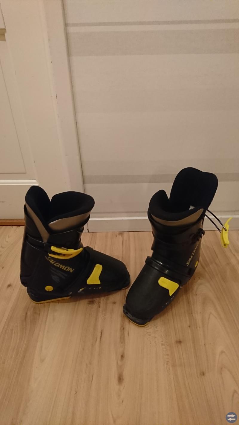 Slalomskidor + pjäxor