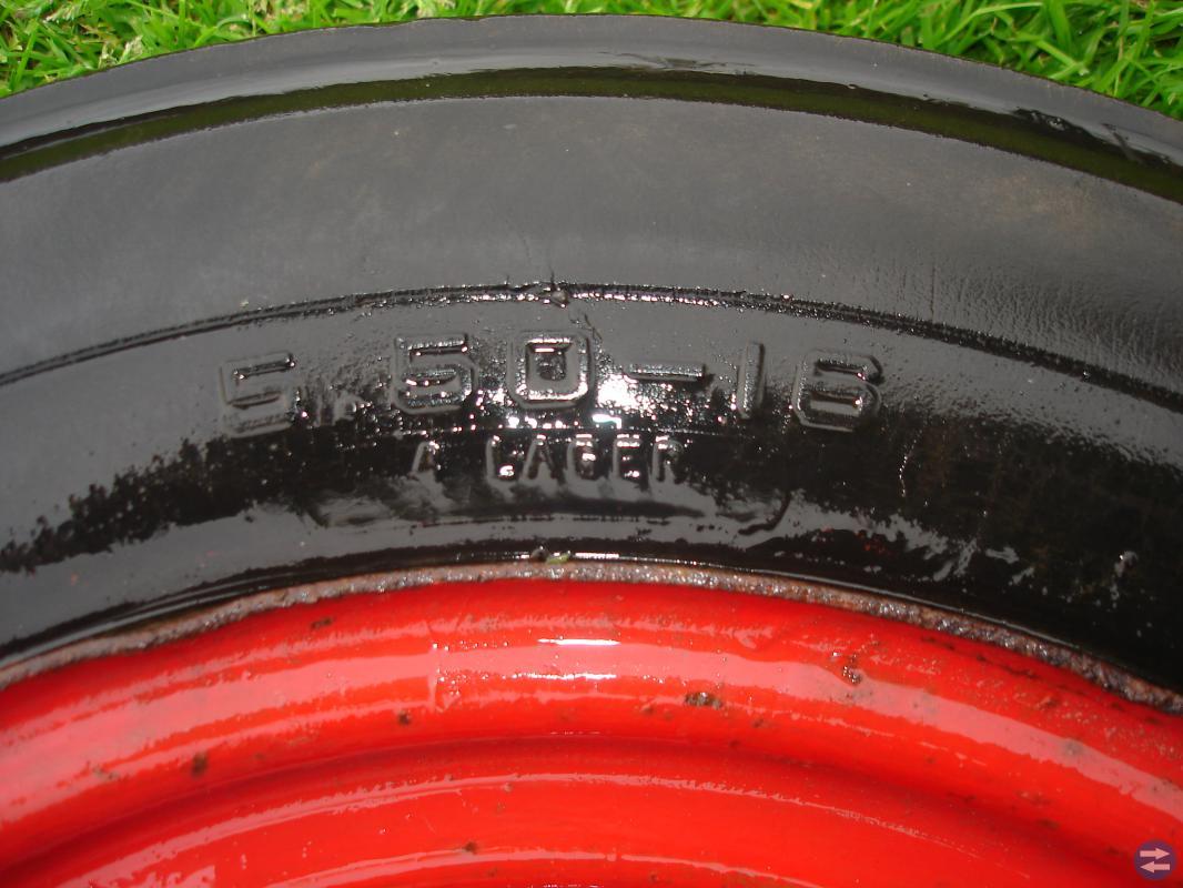 Framhjul till Volvo T23/24