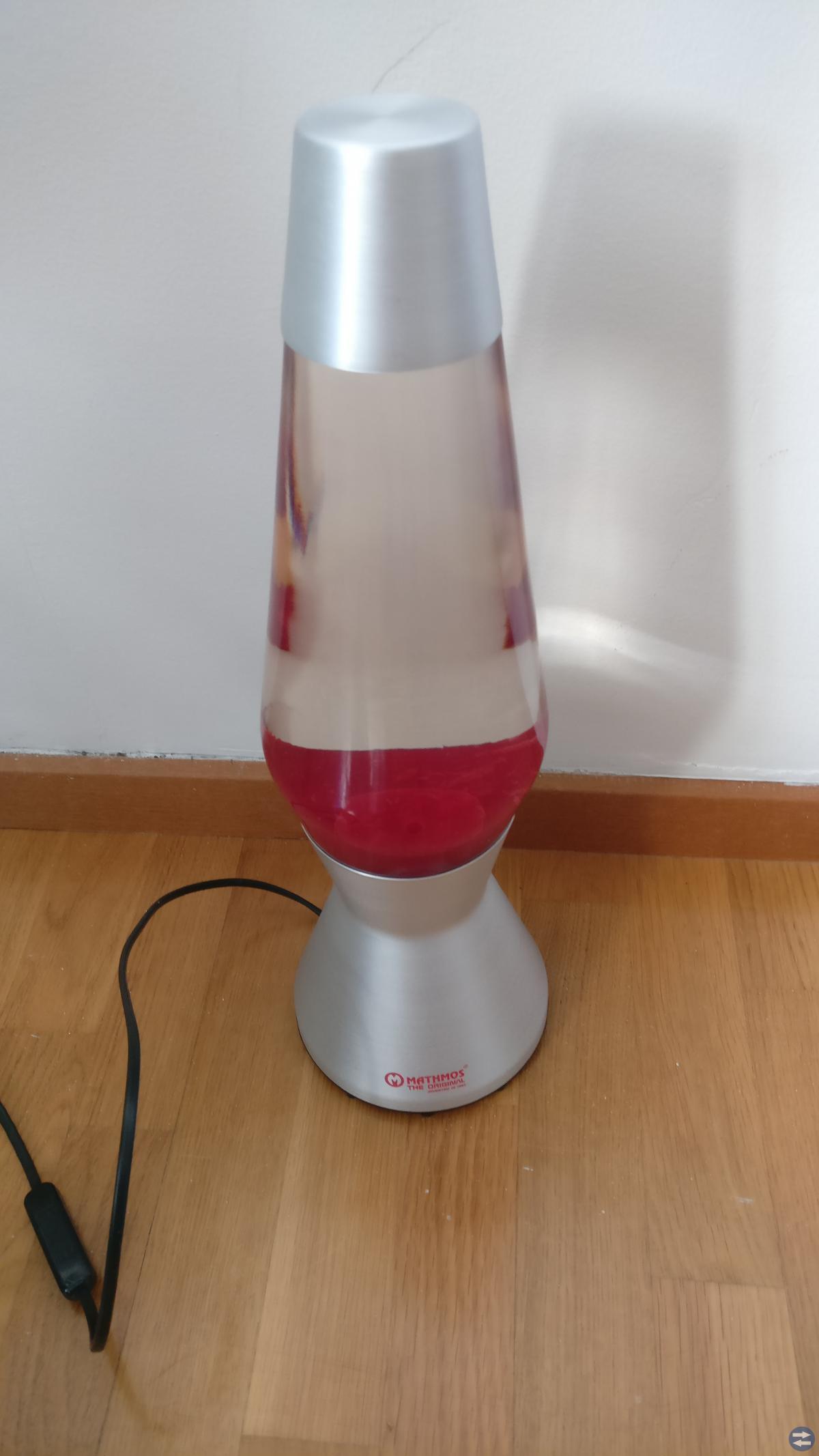 Snygg lavalampa - Aluminium